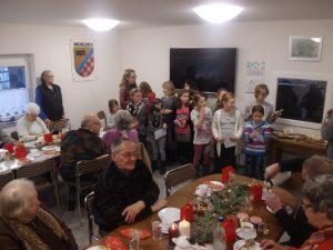 Weihnachtsfeier der Michelbacher Senioren