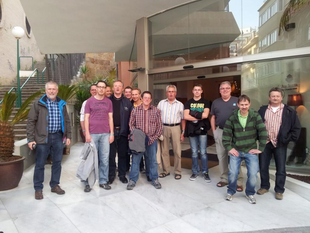 Gruppenbild MSK Lloret